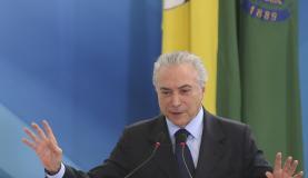 """O presidente Michel Temer disse que os """"milhões de micro e pequenos empresários transformam capacidade empreendedora em riqueza nacional - Antonio Cruz/ Agência Brasil"""