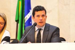 Juiz Sérgio Moro. Foto: Pedro de Oliveira/Alep