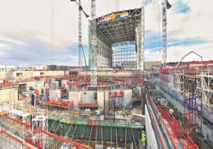 No Sul de França, em Cadarache, o edifício que vai albergar o reator está agora a ser construído   |  D.R.