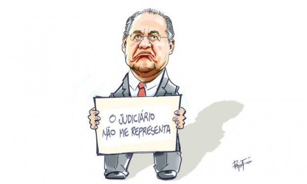 Ministro do STF afasta Renan Calheiros do cargo de presidente do Senado