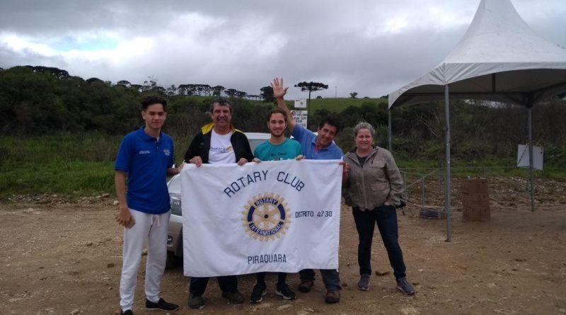 Rotary de Piraquara iniciou as comemorações do Dia do Rio
