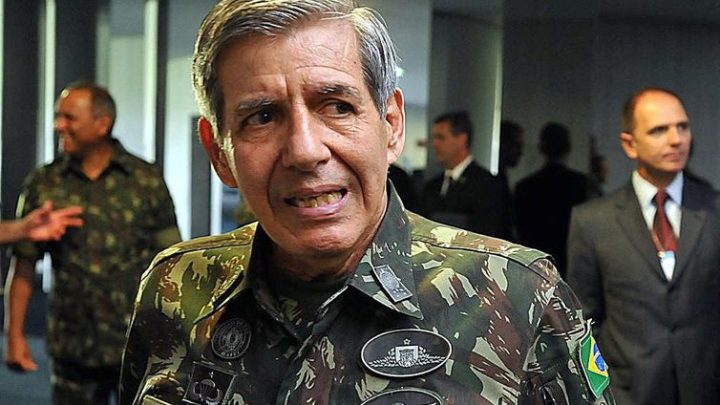 General Heleno defende uso de atiradores de elite contra criminosos